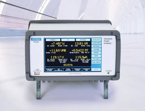Vitrek's New Ultra High Accuracy Power Analyzer Sets New Standard for Price/Performance