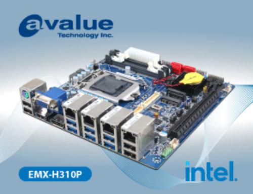 Avalue introduces EMX-H310P, Mini ITX